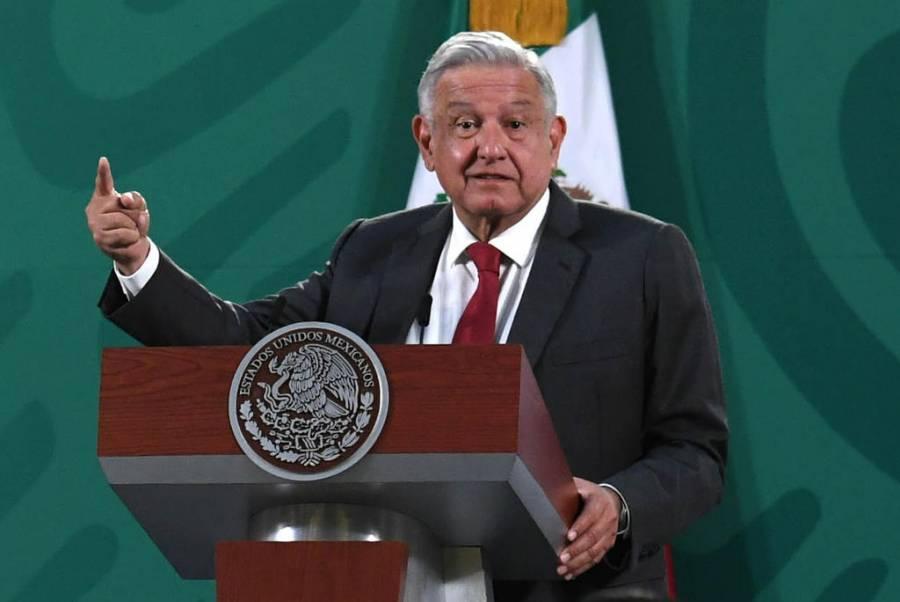 Difunde Obrador un cartón para criticar al PRI y al PAN