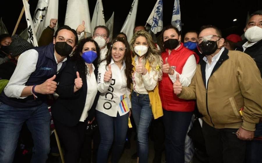 Va por México inició sus campañas en 4 alcaldías de la CDMX
