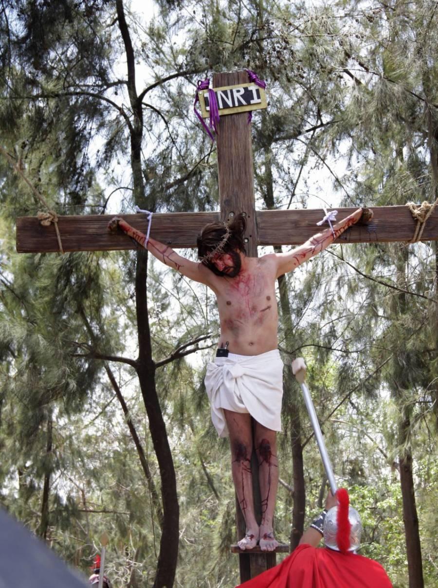 Pasión de Cristo de Iztapalapa fue vista por 6.2 millones de personas