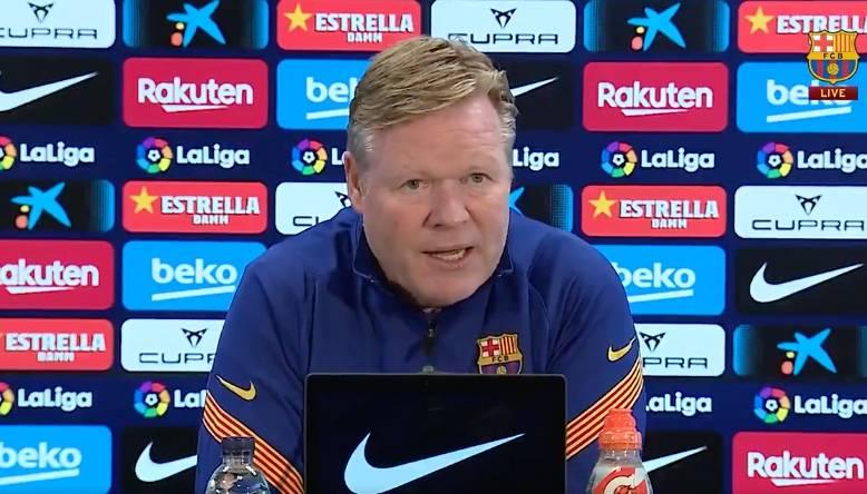 Koeman descarta rotar a Messi y De Jong ante el Valladolid