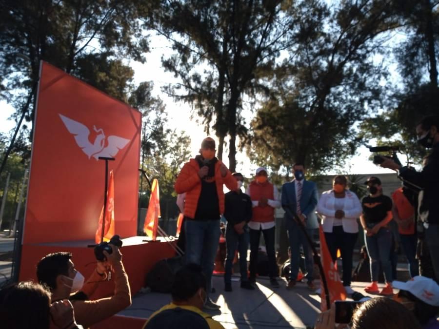 Caravana chilanga renovará la política en la CDMX: Movimiento Ciudadano