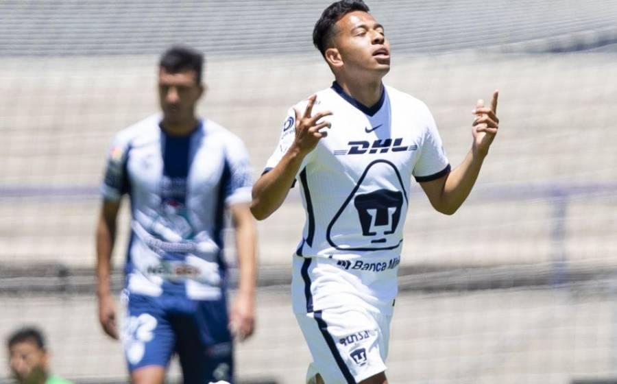 Pumas empata 2-2 ante Pachuca