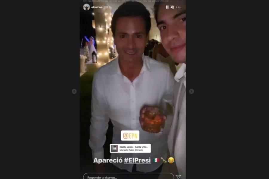 Peña Nieto reaparece en una boda en República Dominicana