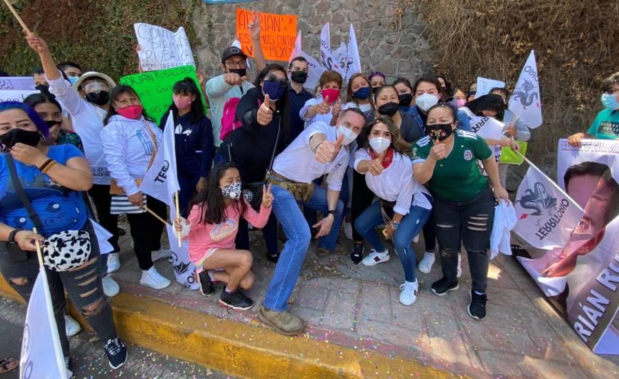 Adrián Rubalcava inicia campaña por la alcaldía Cuajimalpa