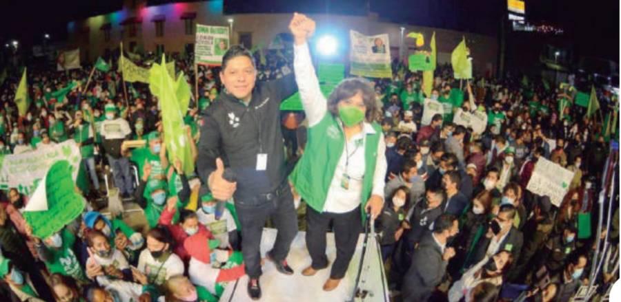 Respaldo unánime a Leonor Noyola: Gallardo
