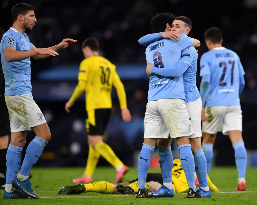 Con gol de Foden sobre la bocina, el City toma ventaja frente al Dortmund