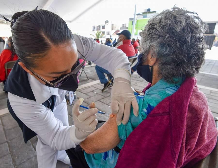 Este martes, último día de vacunación en Iztapalapa y Gustavo A. Madero