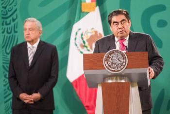 """Miguel Barbosa afirma que en Puebla no habrá """"vacunas de aire"""""""