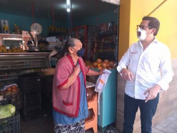 Se compromete Salomón Chertorivski a trabajar por la salud y la economía en alcaldía Miguel Hidalgo
