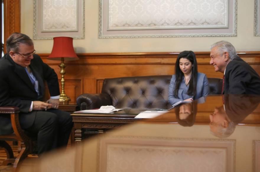 AMLO y Kamala Harris acuerdan medidas para migración segura, ordenada y regular