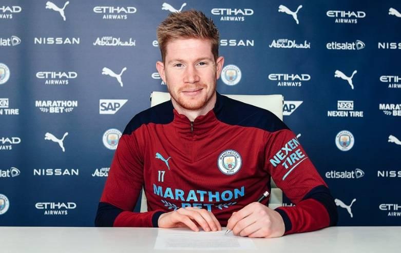De Bruyne se queda en el Manchester City hasta el 2025