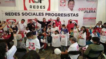 Antuñano presenta propuesta para protección a la infancia