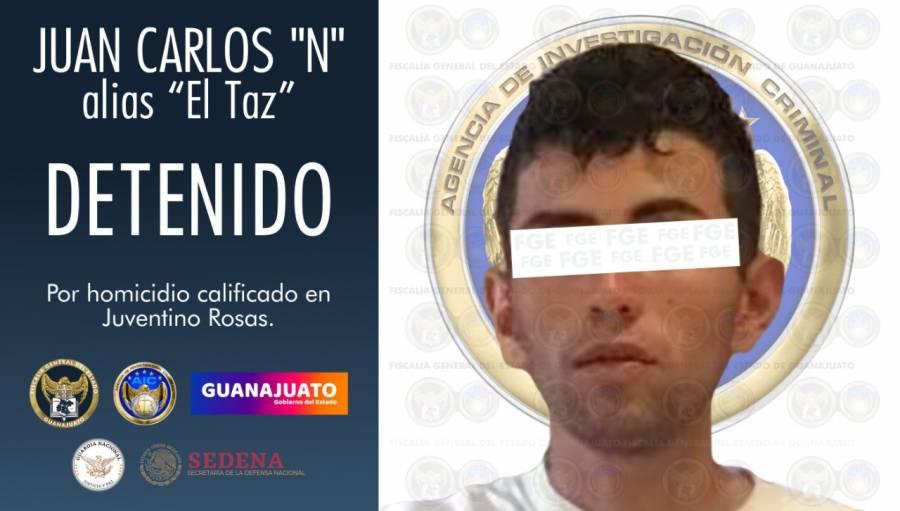 Fiscalía de Guanajuato, captura al homicida del diputado Juan Antonio Acosta Cano
