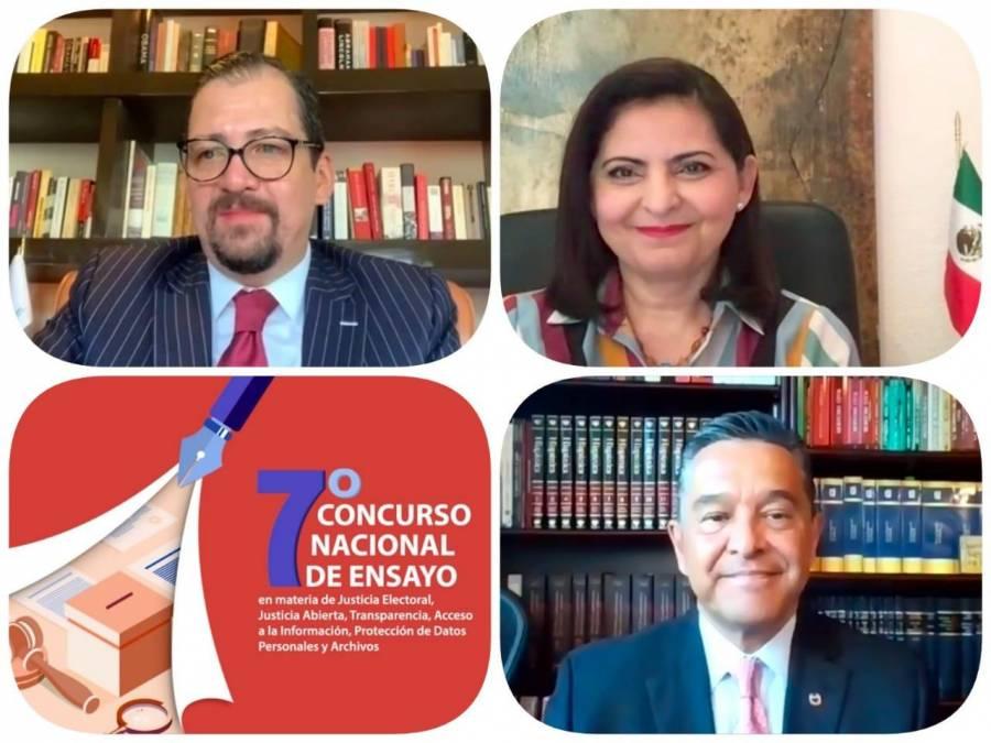 Premian TEPJF y UNAM concurso de ensayo en materia de justicia electoral