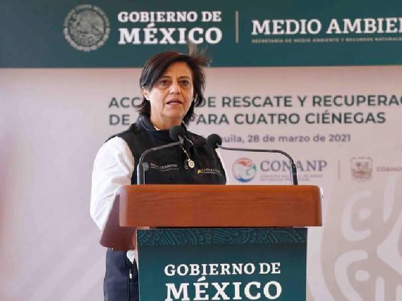 Blanca Jiménez dejará Conagua, informó López Obrador