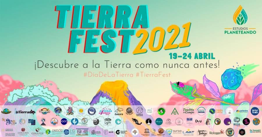 ¡Todo listo para el TierraFest 2021! La forma más divertida de cuidar el medio ambiente