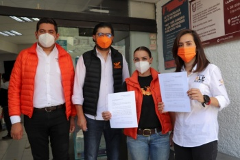 Candidatas de MC en Álvaro Obregón, denuncian robo y agresiones ante las autoridades