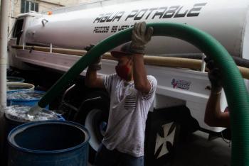 Sheinbaum pide denunciar uso político de los servicios de agua