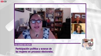 Consejera del IECM, Carolina del Ángel analiza derechos de mujeres en procesos electorales