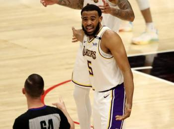 Suspenden por un partido a tres jugadores de Raptors  y Lakers por altercado