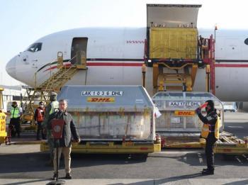 El embarque número 18 con vacunas Pfizer llegó a México