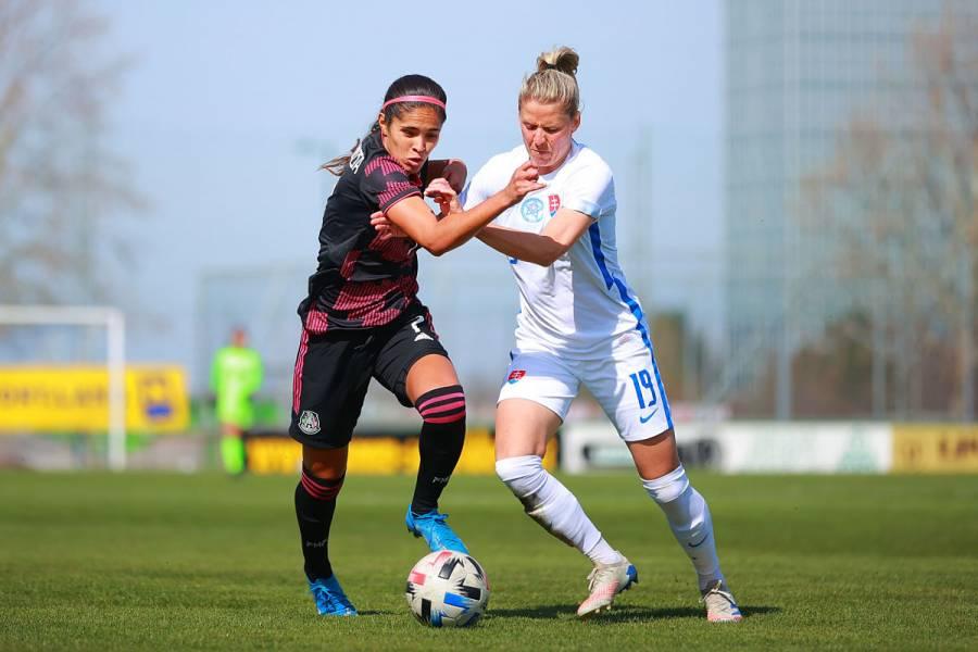 Selección femenil mexicana empata sin goles ante Eslovaquia
