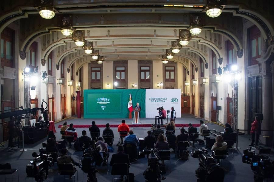"""""""Sí hubo propaganda en la mañanera del 23 de diciembre"""", concluye TEPJF"""