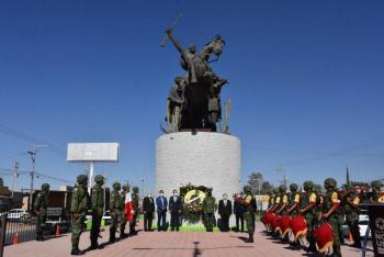 Municipio de Soledad conmemora 102 aniversario luctuoso de Emiliano Zapata