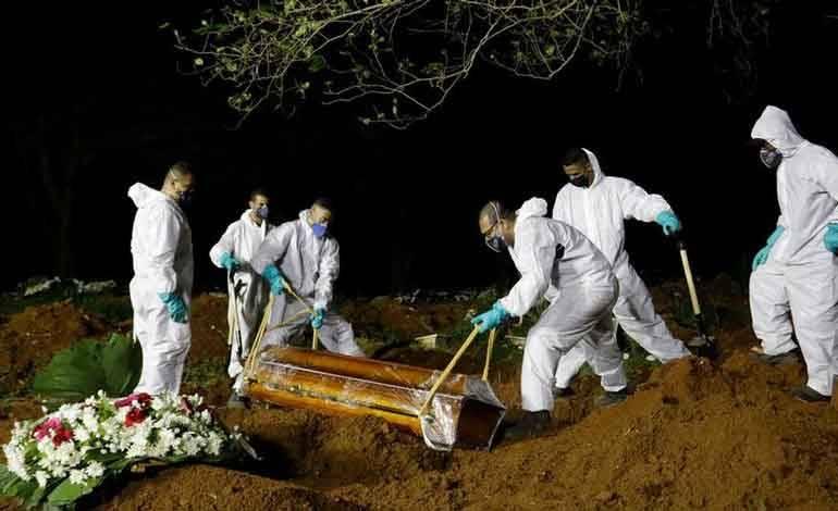 Supera Brasil promedio de 3 mil muertes por día debido a la Covid-19
