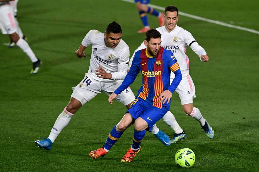 Real Madrid vence al Barcelona en clásico español y es nuevo líder