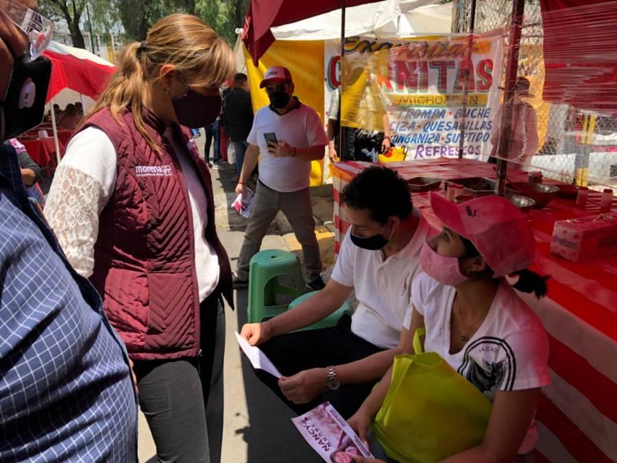 """Candidatos """"no tenemos varitas mágicas"""" para solucionar los problemas del país: Nancy Núñez, aspirante a Congreso CDMX"""