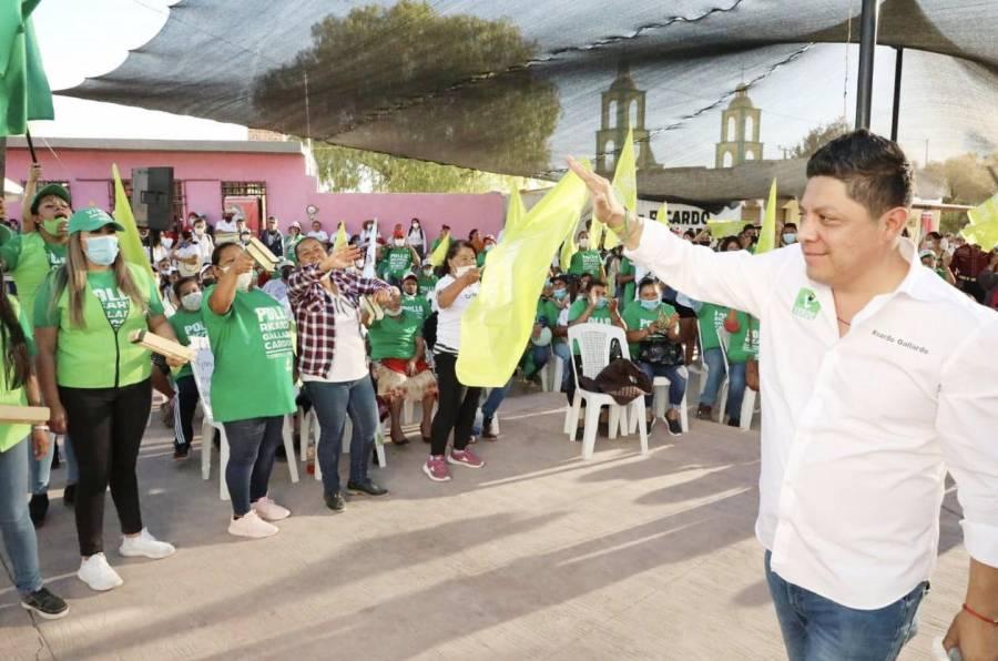"""Ricardo Gallardo presentará su plan de seguridad """"Escudo San Luis"""""""