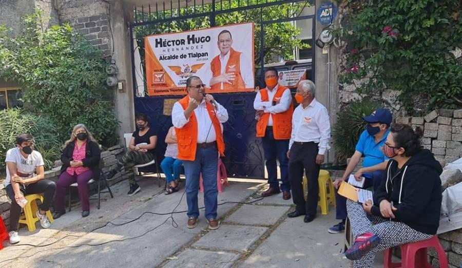 Sostienen encuentros con ciudadanía para recoger demandas en CDMX, candidatos de Movimiento Ciudadano