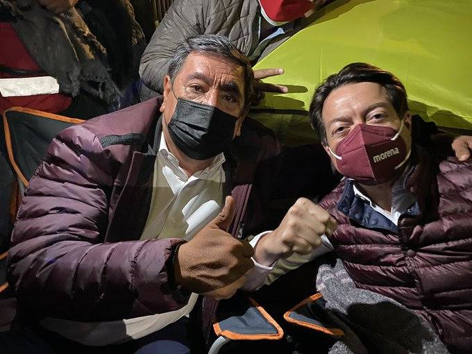 """Salgado Macedonio amaga con ir a casas de consejeros del INE, """"si no rectifican"""""""