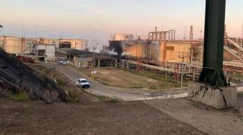Luego del incendio, dejará de operar refinería de Pemex en Minatitlán, Veracruz
