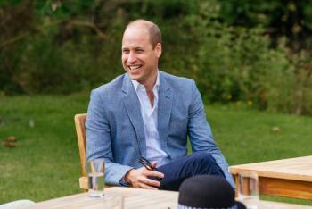 El príncipe William rinde conmovedor homenaje a su abuelo, Felipe de Edimburgo