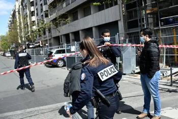 Tiroteo afuera de hospital en París deja al menos un muerto y un herido