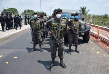 EEUU acuerda con México, Honduras y Guatemala, aumento de militares en sus fronteras