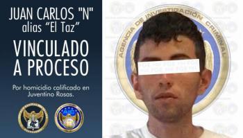 Vinculan a proceso a responsable del homicidio de Juan Antonio Acosta Cano en Guanajuato