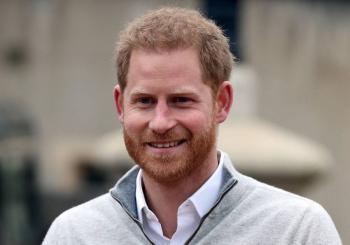 El príncipe Harry llega a Londres para asistir al funeral de Felipe de Edimburgo
