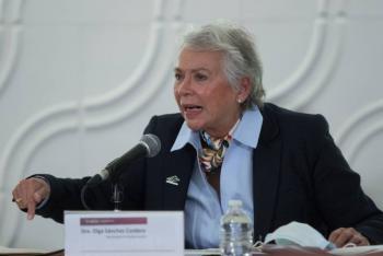 Sánchez Cordero pide al INE y Morena mantener la legalidad, tras dichos de Salgado Macedonio