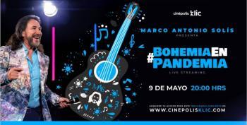 Ofrecerá El Buki concierto streaming el 9 de mayo