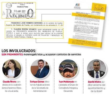 Crítica Barbosa actuación indebida de despachos externos en Comuna de Puebla