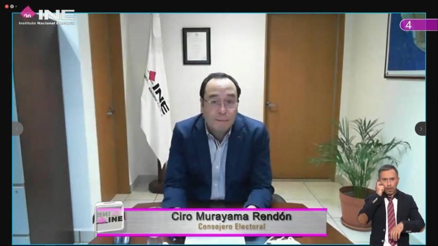 Consejero Ciro Murayama: Morena tiene derecho a competir en Guerrero, pero no a imponer candidatos