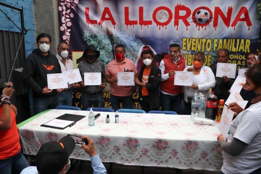 Movimiento Ciudadano promete rescatar tradiciones en Iztapalapa y la CDMX
