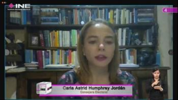 Consejera Astrid Humphrey: No se trata de montos, sino de actos de precampaña