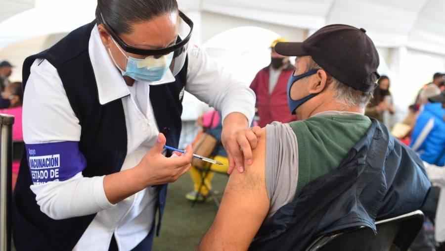 Anuncian aplicación para 2da dosis de vacuna contra Covid en Edomex