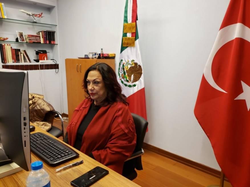 Captan a la cónsul Isabel Arvide, amenazando a empleados del Consulado en Estambul