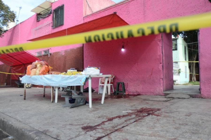 Balacera en la colonia Morelos deja un comerciante muerto