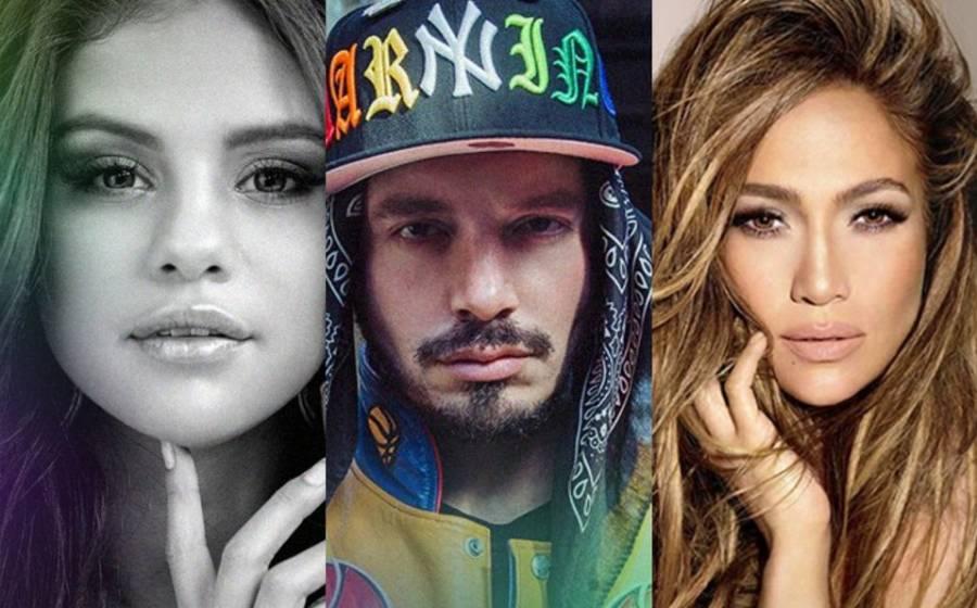 Selena Gomez, J. Balvin y JLo apoyan campaña mundial pro-vacunas Covid-19